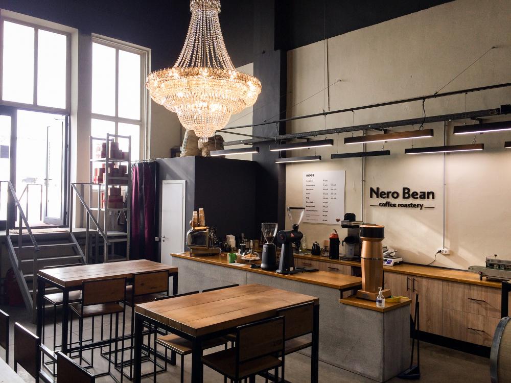 Москва<br/>NeroBean coffee roastery<br/>250 руб/ч